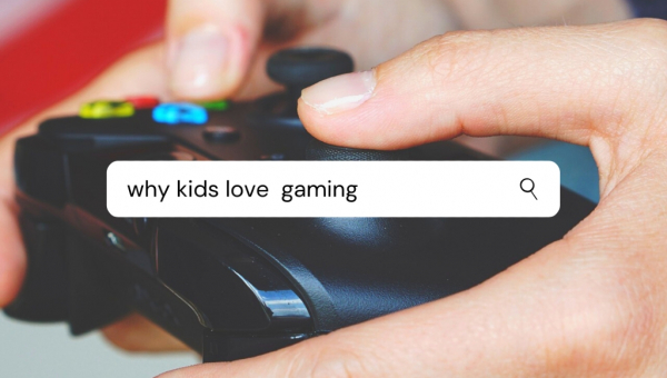 Why Kids Loves Gaming